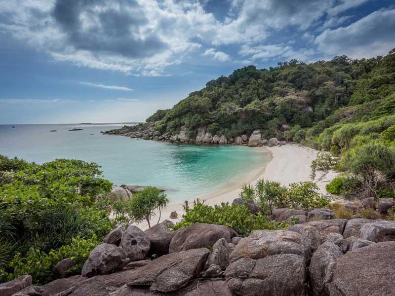 Insel im Mergui Archipel