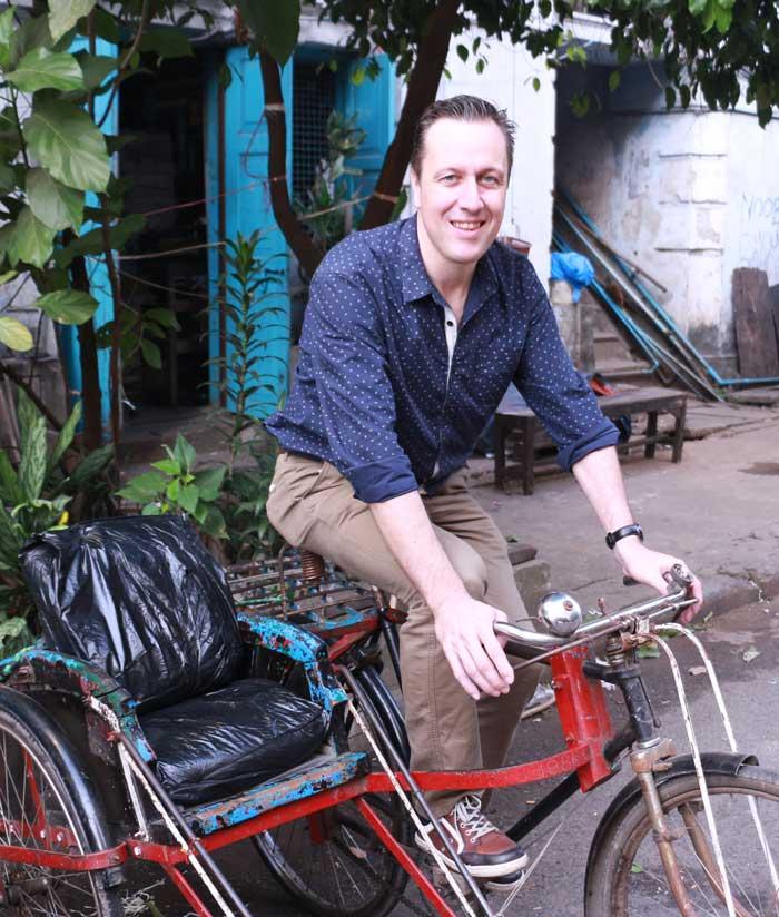 Edwin Briels in Myanmar