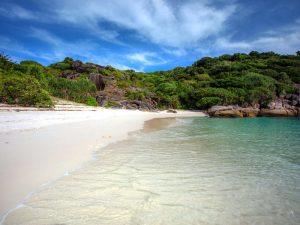 Strand im Mergui Archipel