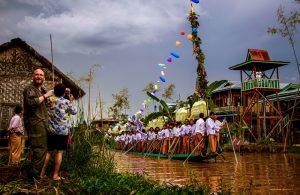 Festlichkeiten am Inle See