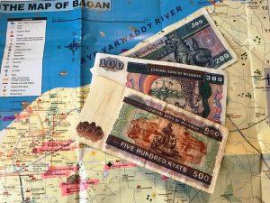 Geldscheine aus Myanmar