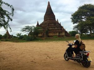 elektroroller Bagan