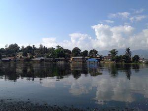 Das friedliche Pa O Dorf Phayartaung