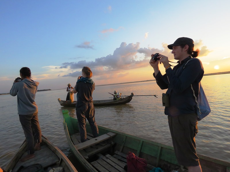 Bootstour auf dem Irrawaddy