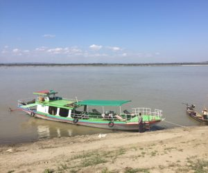Bagan Myanmar Bootsfahrt