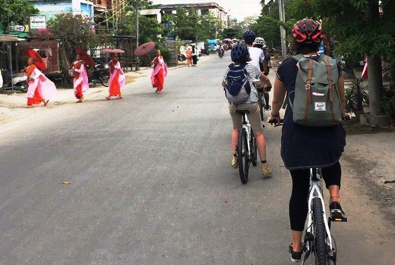 Myanmar Reise zusammenstellen_Fahrradtour in Mandalay