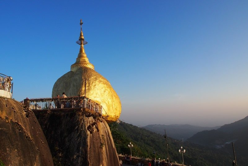 Myanmar Reise zusammenstellen_Goldener Felsen
