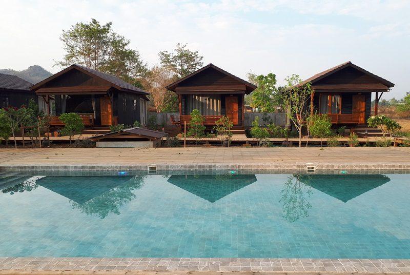 Myanmar Reise zusammenstellen_Lodge am Samkar See