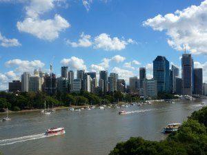 Brisbane rivier