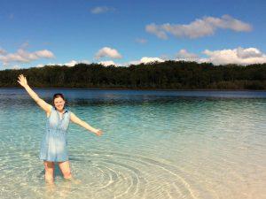 Meer op Fraser Island