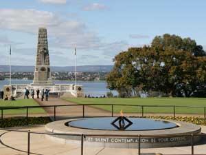Perth uitzicht