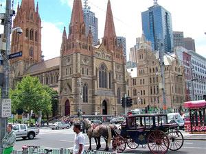 Australië Melbourne St.Pauls Cathedral