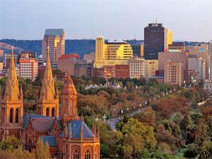Adelaide uitzicht