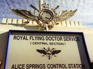 Flying doctors Alice Springs