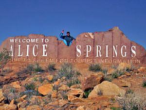 Outback 4wd reis, bewoonde wereld