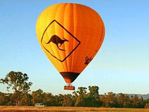 Ballooning Australie reis