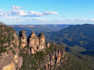 Blue mountains rondreis Australie