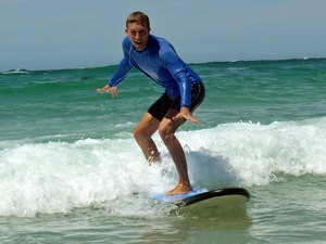 Australië oostkust reis - surfen
