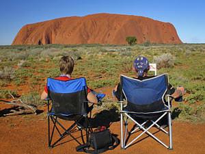 ayers rock camperreis Australie