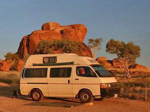 camper - rondreis Australië