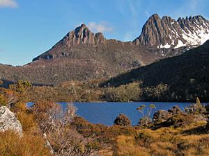 uitzichten tijdens Tasmanie roadtrip