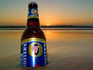 Relaxt einde Sydney surf strand