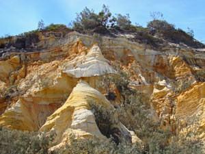 Coloured Sands op je Fraser Island 4WD tocht