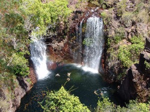Australië outback reis - watervallen