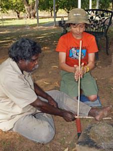 katherine aboriginal vuur maken