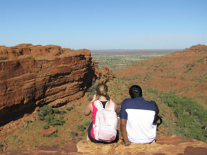 Kings Canyon, kamperen in de Outback