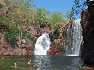 Australie reizen, Litchfield watervallen