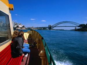 Veerboot naar Manly