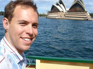 Opera house vanaf de ferry