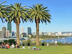 Kings Park in Perth Australie