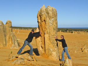 The Pinnacles Westkust Australie