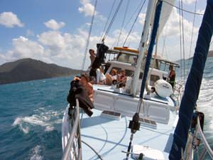 Australië zeilen Whitsundays, oostkust