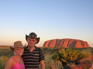 Ayers Rock, kamperen Outback