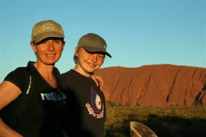Wandelen in de Outback van Australie