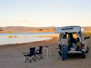 Australië camperhuur - kampeerplek