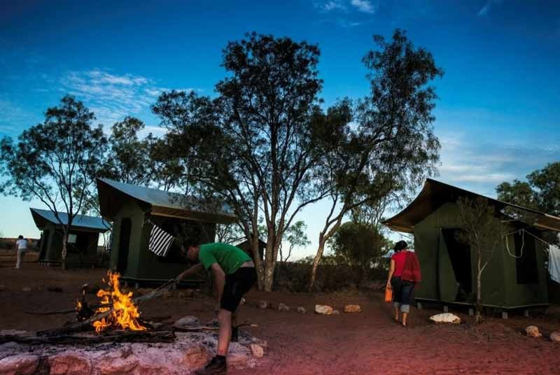 Australie kamperen