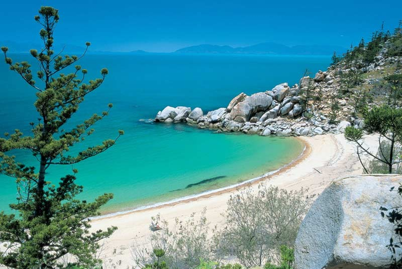 Rustig strand Australie