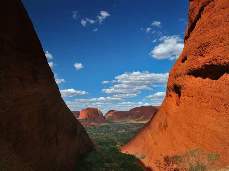 Vakantie Australie - Valley