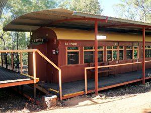 treinwagon undara national park
