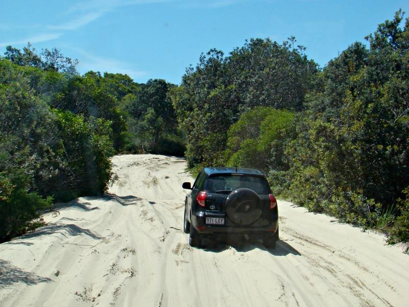 Fraser Island 4WD selfdrive