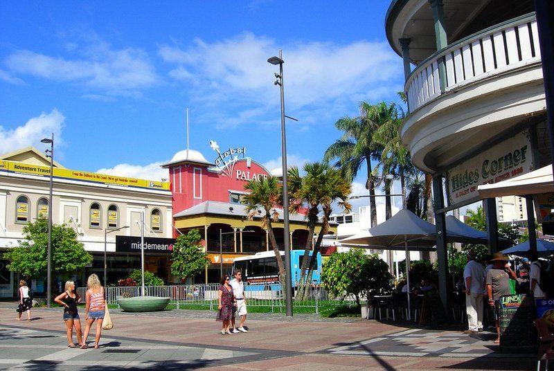 Tropisch Cairns aan zee