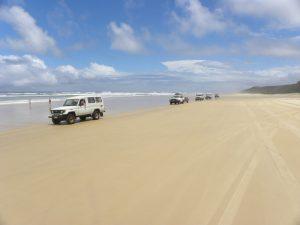 4WD Fraser eiland bezienswaardigheden