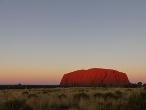 sunset-Uluru