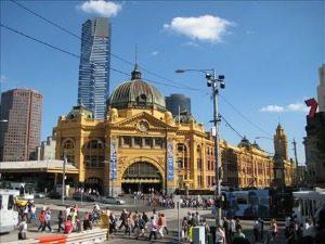 Flinders Street Station - Australië
