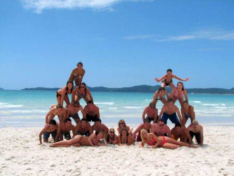 Groepsreizen Australie oostkust Whitsundays