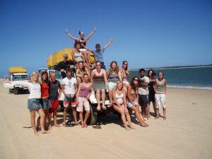 maak nieuwe vrienden tijdens je groepsreis op Fraser Island